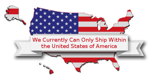 We Currently Can Only Ship Within the United States of America